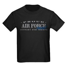 Proud Air Force Parent (Blue) T