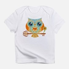 Owls Summer Love Letters Infant T-Shirt
