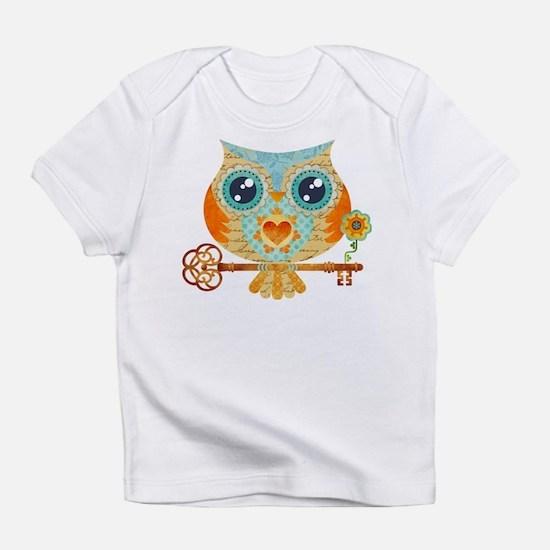 Owls Summer Love Letters Infant T-Shirt