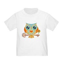 Owls Summer Love Letters T-Shirt