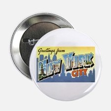 Greetings from NYC Button