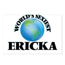 World's Sexiest Ericka Postcards (Package of 8)