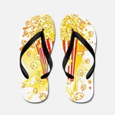 POPCORN_PARTY Flip Flops