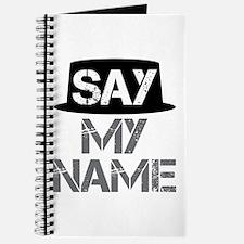 Breaking Bad - Say My Name Journal