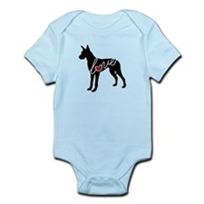 Great Dane Love Infant Bodysuit