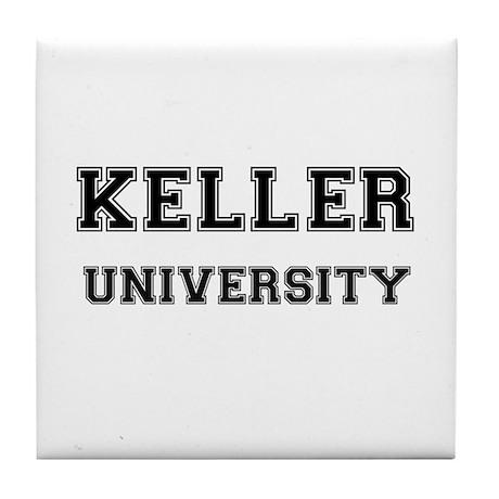 KELLER UNIVERSITY Tile Coaster