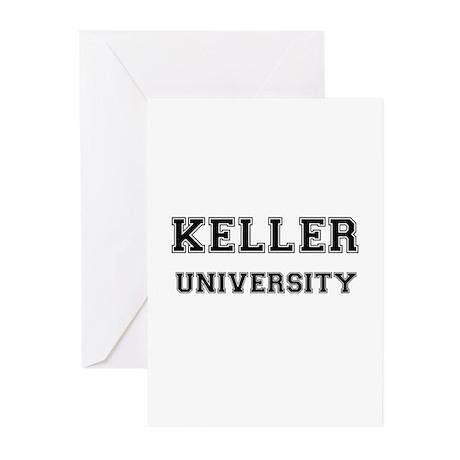 KELLER UNIVERSITY Greeting Cards (Pk of 10)