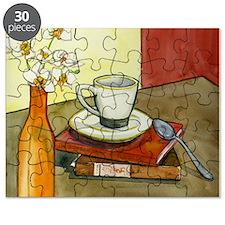 Caffeine and Books Puzzle