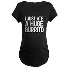 Maternity Burrito Maternity T-Shirt