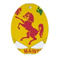 125th Cavalry Reconnaissance Squad Ornament (Oval)