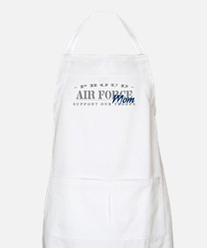 Proud Air Force Mom (Blue) BBQ Apron