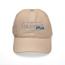 Proud Air Force Mom (Blue) Baseball Baseball Cap