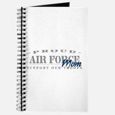 Proud Air Force Mom (Blue) Journal