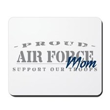 Proud Air Force Mom (Blue) Mousepad