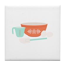 Baking Utensils Tile Coaster