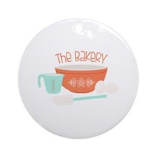 The Bakery Ornament (Round)