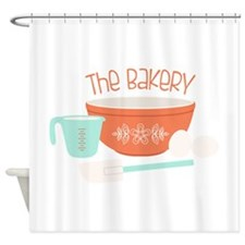 The Bakery Shower Curtain