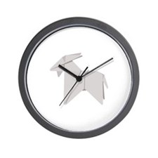 Chinese Goat Wall Clock