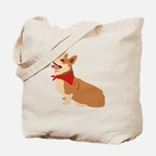 Corgi Dog Tote Bag