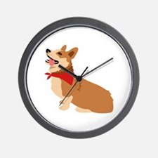 Corgi Dog Wall Clock