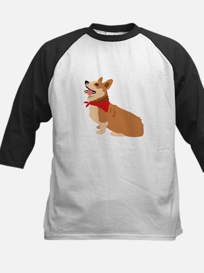 Corgi Dog Baseball Jersey