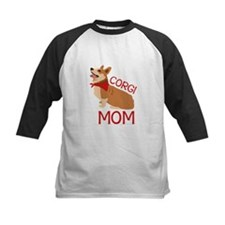 Corgi Mom Baseball Jersey