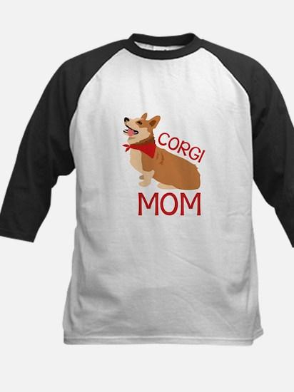 Corgi Mom Baseball Jersey