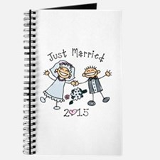 Stick Just Married 2015 Journal
