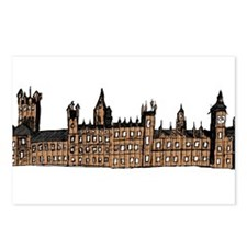 Graphical Sketch Houses of Parliament Postcards (P