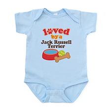 Loved By A Jack Russel Terrier Infant Bodysuit
