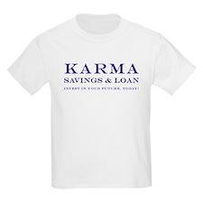 Karma Savings Loan T-Shirt