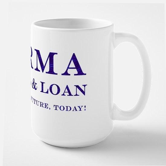 Karma Savings Loan Large Mug