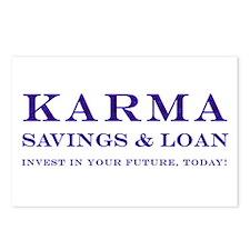 Karma Savings Loan Postcards (Package of 8)