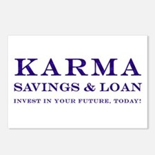 Karma Savings Loan Postcards (Package of 8)