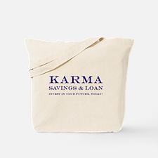 Karma Savings Loan Tote Bag