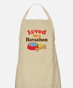 Loved By A Havachon Apron