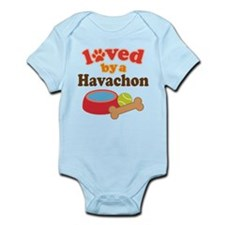 Loved By A Havachon Infant Bodysuit