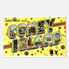 Greetings from Coney Island Postcards (Package of