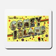 Greetings from Coney Island Mousepad