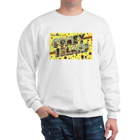 Greetings from Coney Island Sweatshirt