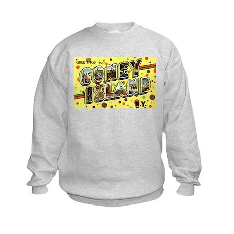 Greetings from Coney Island Kids Sweatshirt