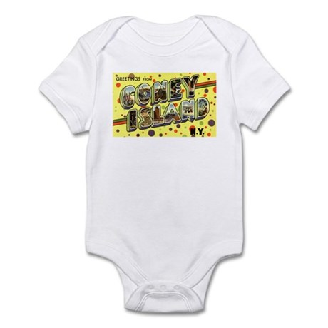 Greetings from Coney Island Infant Bodysuit