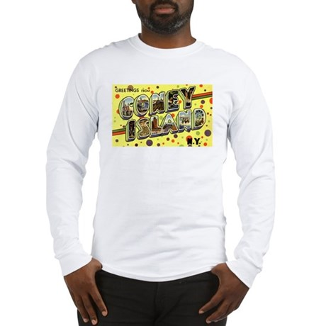 Greetings from Coney Island Long Sleeve T-Shirt