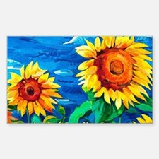 Sunflowers Painting Decal