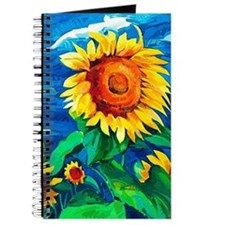 Sunflowers Painting Journal