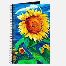 Sunflowers Painting Journal