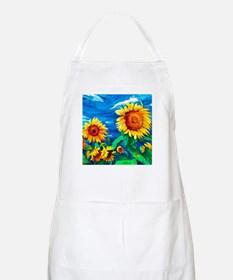Sunflowers Painting Apron