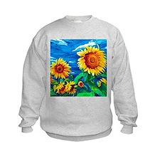 Sunflowers Painting Sweatshirt