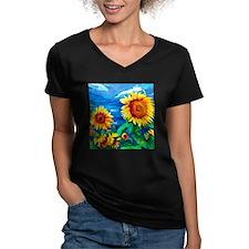 Sunflowers Painting T-Shirt