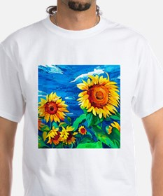 Sunflowers Painting T-Shirt